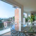 Attico con terrazza e vista su Verona